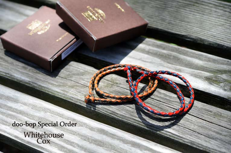 Whitehouse Cox P-2245 DOUBLE WRAP BRACELET
